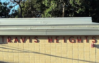Travis Heights Elementary: The site of AISD's next charter, if the community gets the votes tonight.