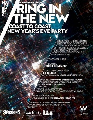 Chrontourage picks for NYE 2013