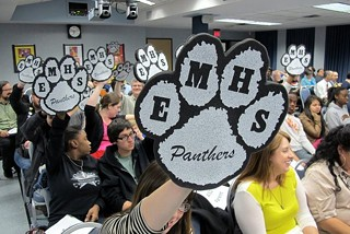 Panther Pride: Eastside Memorial advocates win the night as AISD trustees vote 5-4 to terminate their contract with IDEA Public Schools