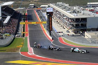 F1 at the Circuit of the Americas
