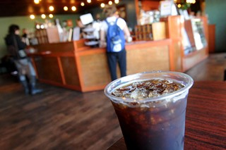 Iced Bennu at Bennu Coffee