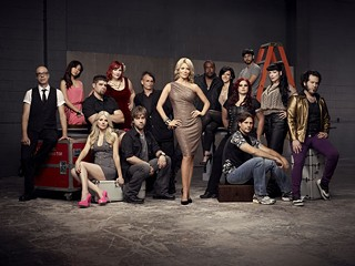 And then there were 14: The opening cast of 'Face Off' season four. Guess which one they're calling Disco Wolverine.
