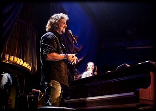 Greg Rolie last night at the One World Theatre, 1.23.13