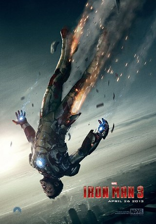 'Iron Man 3' plummets and rises in the new Super Bowl spot