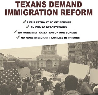 Texans March for Immigration Reform