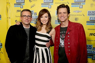 These are the famous people you've heard about: (l-r) Steve Carell, Olivia Wilde, Jim Carrey