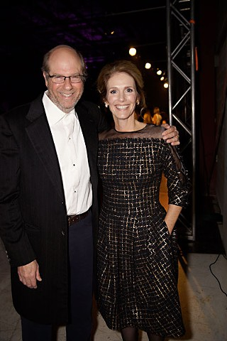 It doesn't take being in over 200 movies to win a Texas Film Hall of Fame award, but Stephen Tobolowsky did both. Julie Hagerty presented the award.