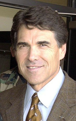 Rick Perry's believes the definition of neckwear should be one pattern, one knot
