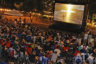 TV, but bigger: The special outdoor cast and crew screening of 'Friday Night Lights' at ATX Television Festival 2012