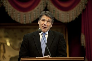 Rick Perry says Medicaid expansion would amount to a fool's errand.