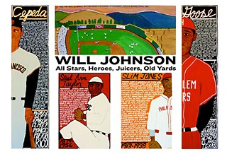 All-Stars, Heroes, Juicers, Old Yards: New Baseball Paintings by Will Johnson