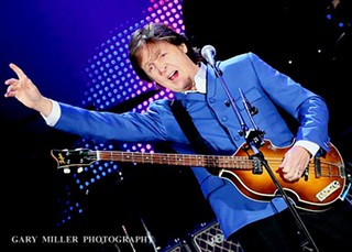 Sir Paul McCartney last year at Minute Maid Park in Houston,  11.14.12