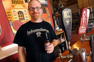 Rob Cartwright of Independence Brewing