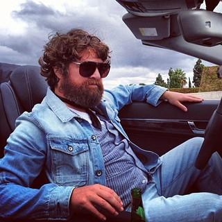 Zach Galifianakis in The Hangover: Part III