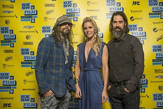 Rob Zombie, Sheri Moon Zombie, and Jeff Daniel Phillips at the U.S. premiere of <i>Lords</i>, SXSW 2013