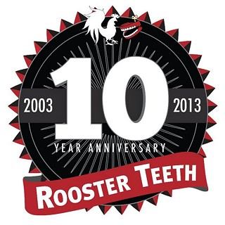 Rooster Teeth Marks Tenth Birthday With Fireworks
