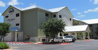The 2006 housing bond program helped pay for 3,400 new housing units, including the recently opened Arbor Terrace, on I-35 in South Austin, which Foundation Communities converted from a former hotel into 120 furnished efficiency apartments for formerly homeless individuals. Monthly rent ranges from $370 to $445 per month.