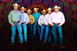 First night Pachanga headliners and caballeros, Intocable
