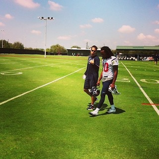 DeAndre Hopkins at Texans Rookie Camp