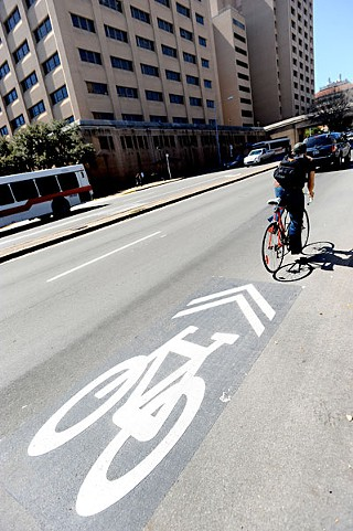 It may take awhile, but more bike lanes have been popping up in the last few years.
