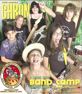 Our first summer band camp story, 2003