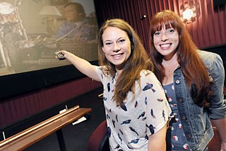 ATX Television Festival co-founders Emily Gipson (l) and Caitlin McFarland