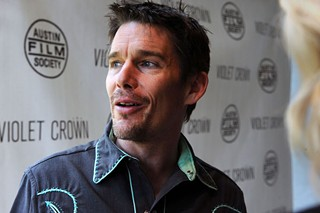 Ethan Hawke at the Violet Crown premiere of Before Midnight