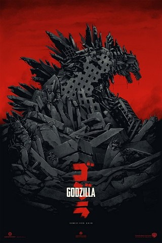 Mondo and Phantom City Collective team up to bring even more Godzilla goodness to San Diego Comic-Con 2013