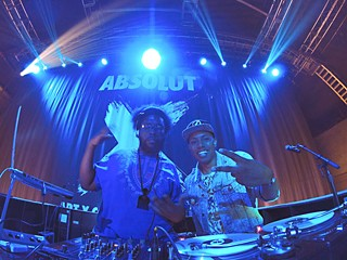 Brooklyn Bros.: Questlove and Zeale (r)