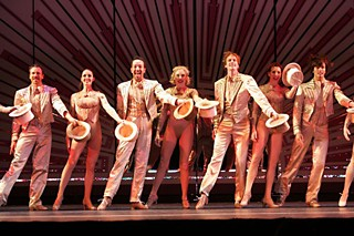 Second best to none, son: the cast of A Chorus Line