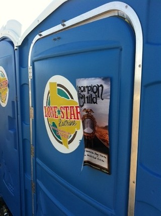 Q: How to cut down on Porta Potty use? A: Die of thirst.