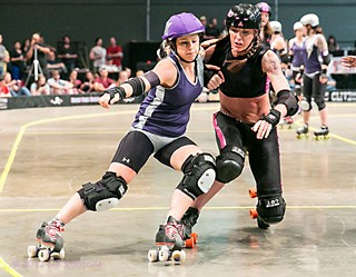 Texas Rollergirls Double Header