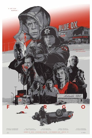 One of Gabz's limited-edition Fargo prints