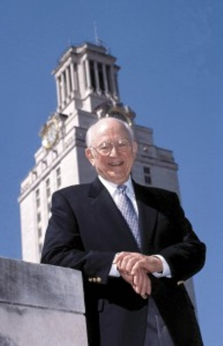 Former UT acting president William Livingston, 1920-2013