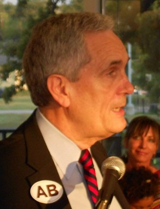 U.S. Rep. Lloyd Doggett at the Carver Museum
