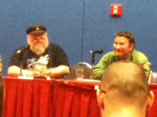 Friends through thick and thin, time and space: George R. R. Martin and Howard Waldrop