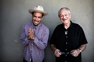 Get Up! (l-r) Ben Harper and Charlie Musselwhite