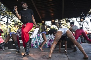Big Freedia, who first taught Fun Fun Fun Fest how to twerk in 2010, headlines the Blue stage Friday