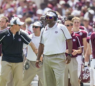Head coach Kevin Sumlin