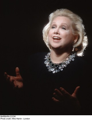 Still glittering and being gay: Barbara Cook