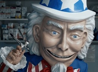 Creepy Uncle Sam Ad Suggests Young Women Should Opt Out of Healthcare
