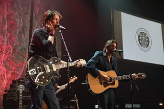 Brotherly love: Charlie (left) and Will Sexton during the All ATX concert for HAAM Benefit Day at the Moody Theater, 9.24.13