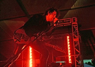 Jon Spencer sets fire to the Gospel tent, 10.3.13
