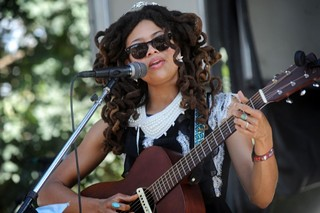 Those going to both weekends of ACL will be back next Saturday to see Valerie June again