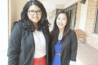 Blanca Murillo (l) and Tiffany Vo