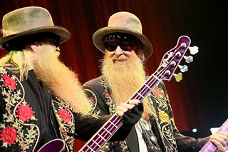 Brothers in arms: Dusty Hill (left) and Billy Gibbons in the ATX, 10.9.13