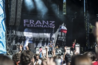 Like rain would stop the Scots. Franz Ferdinand among the bands making alternative ACL plans