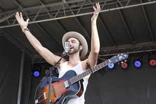 Shakey Graves, seen here at the second weekend of ACL Fest, will also serenade SXSW 2014
