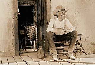 <i>Gus on the Porch</i> by Bill Wittliff