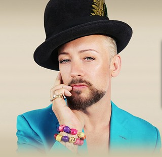 The Boy, the man, the legend: Boy George (see Thursday)